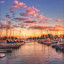 Sunset and Silence by Gene Brumer - Instagram & Mobile Android ( water, lake michigan, sunset, boats, silence, lake, sunrise )