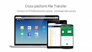 Screenshot of Web PC Suite - File Transfer