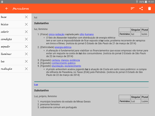Portuguese Dictionary Offline screenshot 11