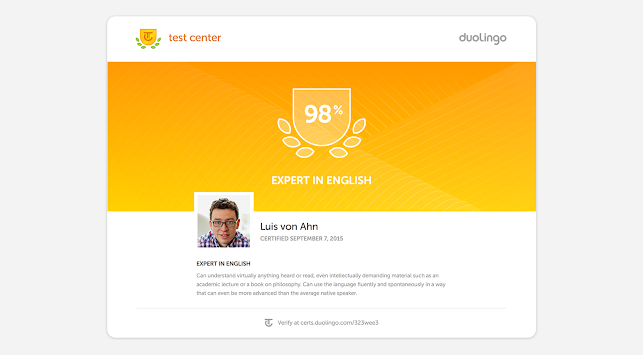 Duolingo English Test APK screenshot thumbnail 10