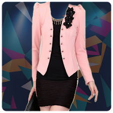 Women Jacket Photo Suit