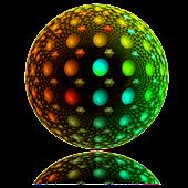 Disco-Kugel Live-Hintergrund