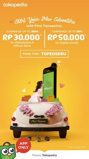 Tokopedia - Online Shopping & Mobile Recharge screenshot 1