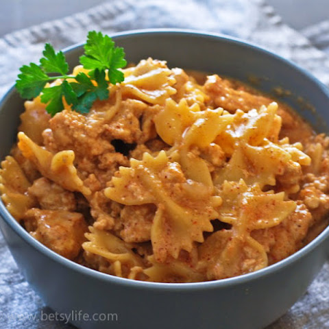 "Homemade Healthier ""Hamburger Helper"""