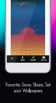 3D Wallpaper, AMOLED Live Wallpaper 4K/HD: Walloop APK screenshot thumbnail 6