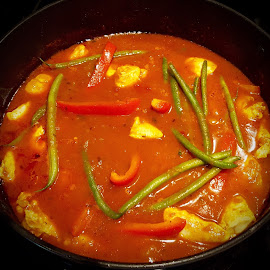 Chicken Vindaloo Curry by Michael Villecco - Food & Drink Cooking & Baking (  )