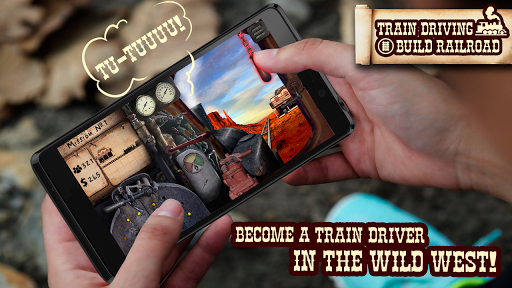 Train driving. Build railro - screenshot