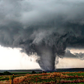 Kansas Tornado by Alex Heimberger - Landscapes Weather ( pwc storm, weather, landscapes, tornado )