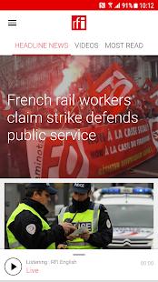 RFI - Radio France Internationale,  live news for pc