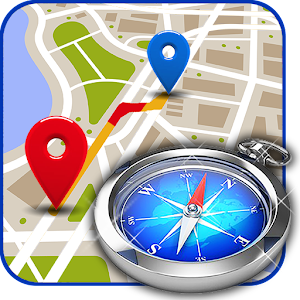 Maps, Directions Route Finder, Traffic & Compass