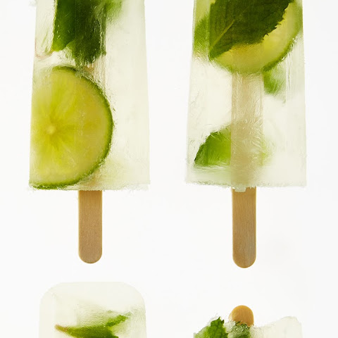 Lime-Mint Gimlet Ice Pop