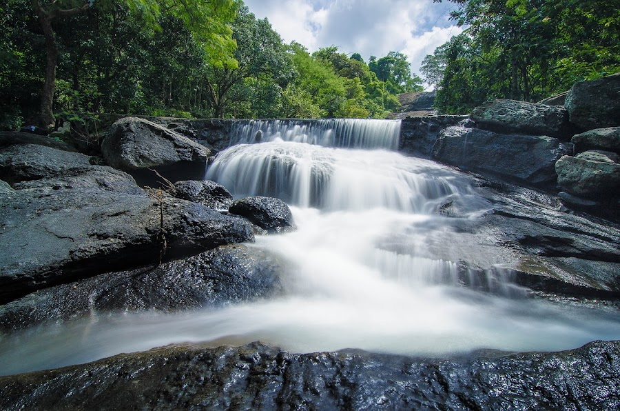 Pugo Waterfalls by Beth Panay - Landscapes Waterscapes ( waterfalls, pugo, la union )