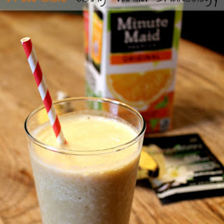 Vanilla Shakeology Recipe | Dreamsicle Shake