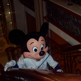 Captain Mickey by Debbie Salvesen - People Musicians & Entertainers ( mickey mouse, magical, joy, mexico, children, captain mickey, kids, fun, disney, laughter, cruise, entertainment,  )