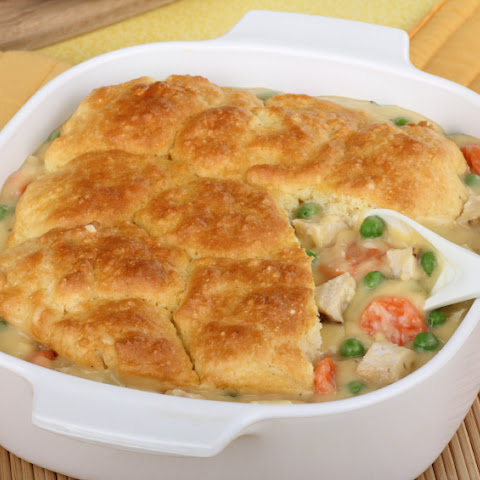 1. Chicken Pot Pie with Biscuit Crust