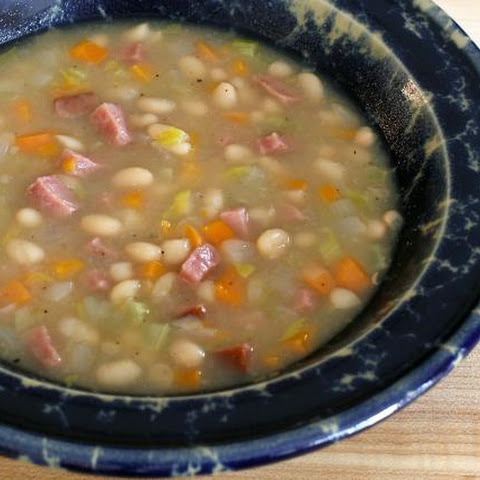 Crock Pot Bean Soup With Ham