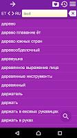 Screenshot of Russian Estonian Dictionary Fr