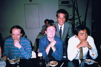 With Esa Pekka Salonen, Tokyo, 1988 (1)