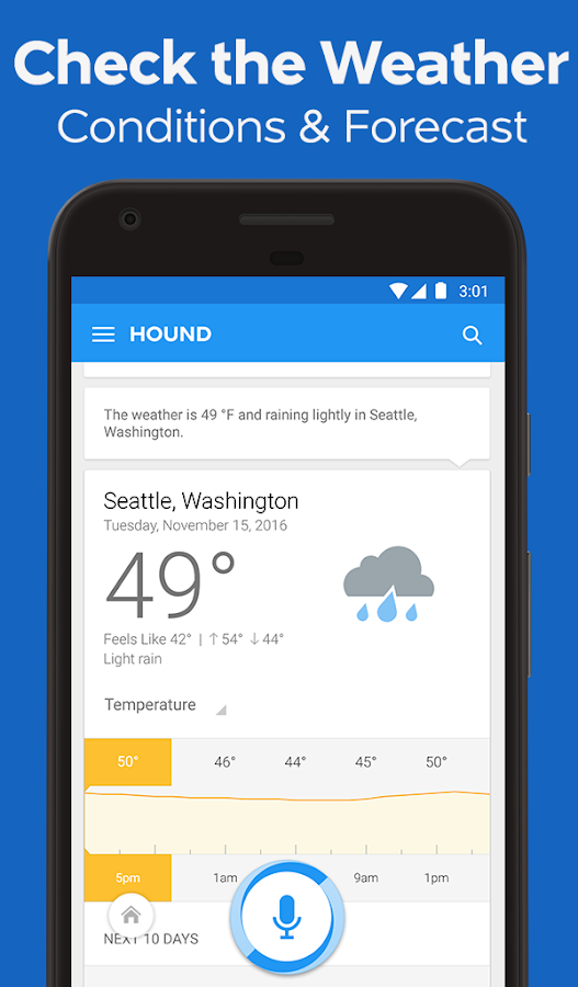 HOUND Voice Search & Assistant Screenshot 1