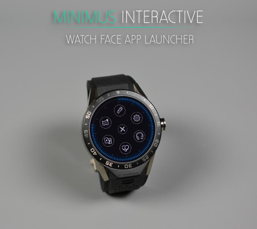 Minimus Interactive Watch Face Screenshot 6