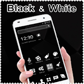 Download Black and White Theme APK to PC
