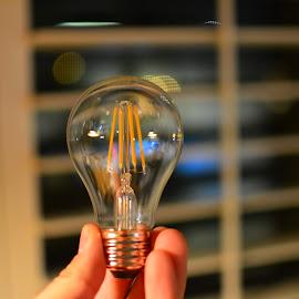 by Jeremy Prince - Novices Only Abstract ( bulb, glass, light,  )