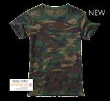 Brandit Ladies T-Shirt - Brandit - камуфляж лес