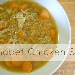 Chicken Alphabet Soup Recipes