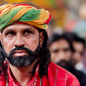 Most people guard against going into the fire, and so end up in it. by Yuni  Khan - People Portraits of Men ( pakistan, lahore, yuni photography, devotees, mela chiraghan, yuni khan, madha lal hussain shah mela, younus hussain khan )