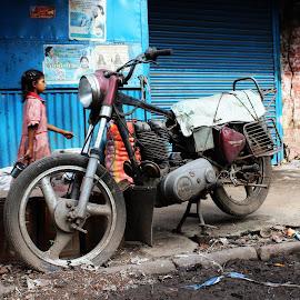 Retired  by Dibakar Roy - Transportation Motorcycles