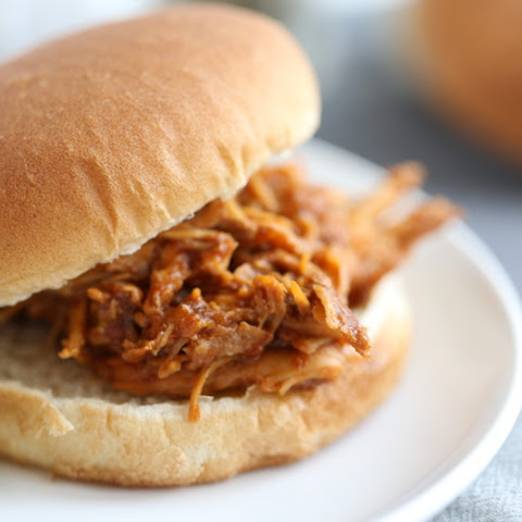 Now, don't get me wrong nothing beats BBQ chicken straight off the grill. BUT, the flavors of this recipe can't be beat and you don't have to sweat over a hot grill. Give it a try next week and I bet you will be converted to the crockpot-side 🙂. The Best Crockpot BBQ Chicken.