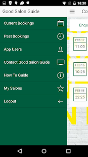 Good Salon Guide Bookings - screenshot