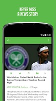 Screenshot of Tennis News - Sportfusion