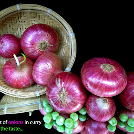 Onions... by Asif Bora - Typography Quotes & Sentences