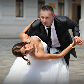 by Zlatko Gašpar - Wedding Bride & Groom