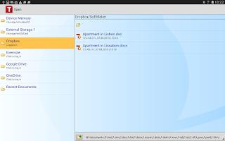 Screenshot of Office: TextMaker Mobile