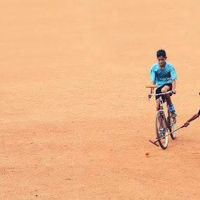 Cycle Polo !! by Prasobh Parthasarathy - Sports & Fitness Other Sports