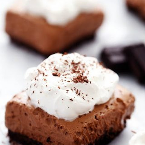 French Silk Pie Bars