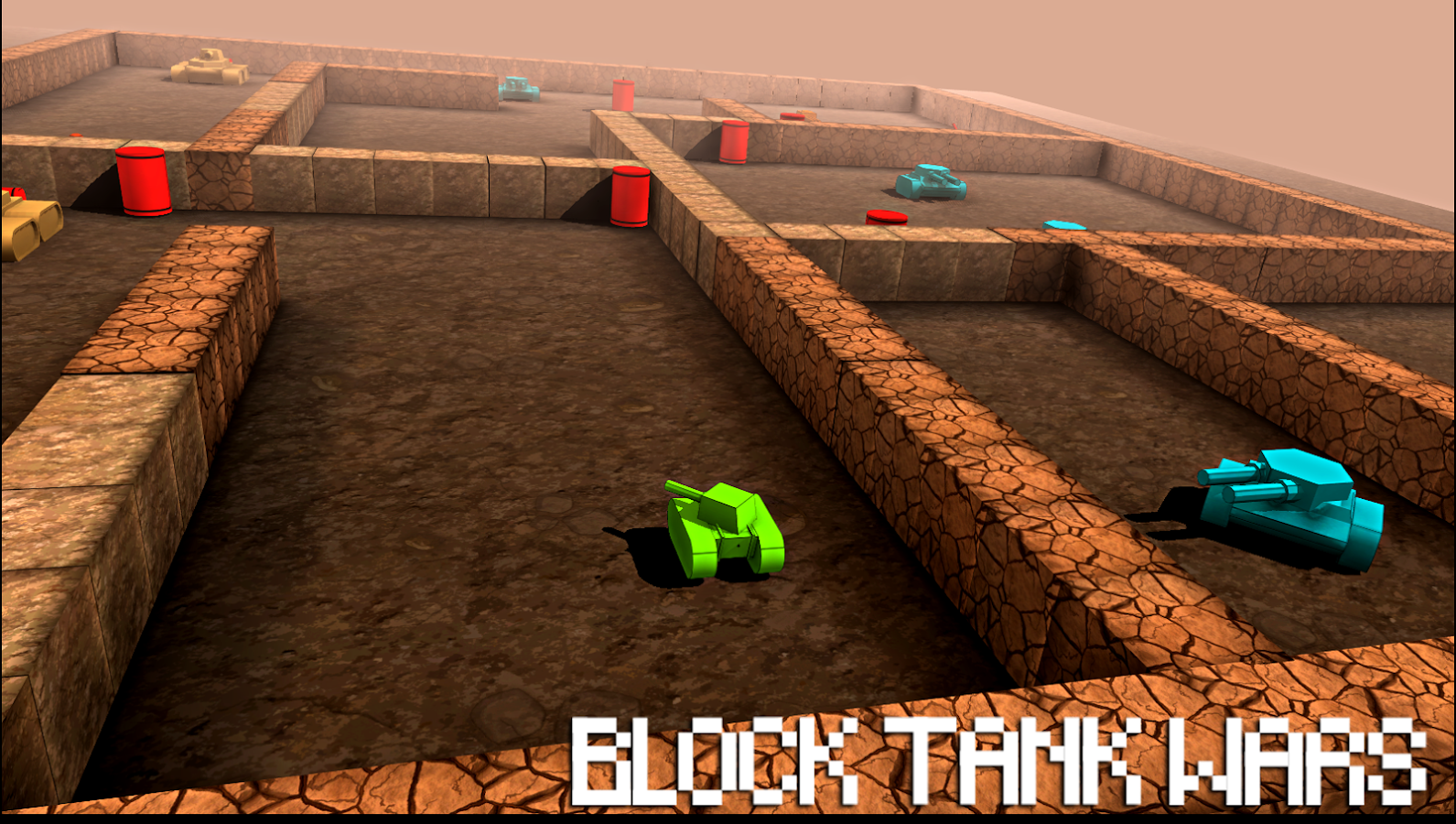 Block Tank Wars Screenshot 2