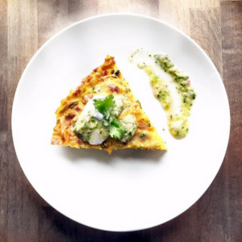 Southwest Frittata with Chobani Greek Yogurt