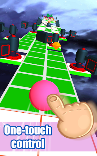 Rolling Ball Sky 3D Android App Screenshot