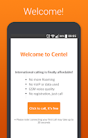 Screenshot of Centel - International Calling
