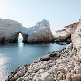 Sea Caves by Theodoros Theodorou - Landscapes Caves & Formations ( sea rocks, arch, fujifilm, formations, x-t1, seascape, cave, landscape, rocks, 16mm f1.4, sea cave )