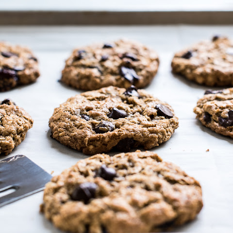 Almond Butter Oatmeal Cookies (Gluten Free, Dairy Free)