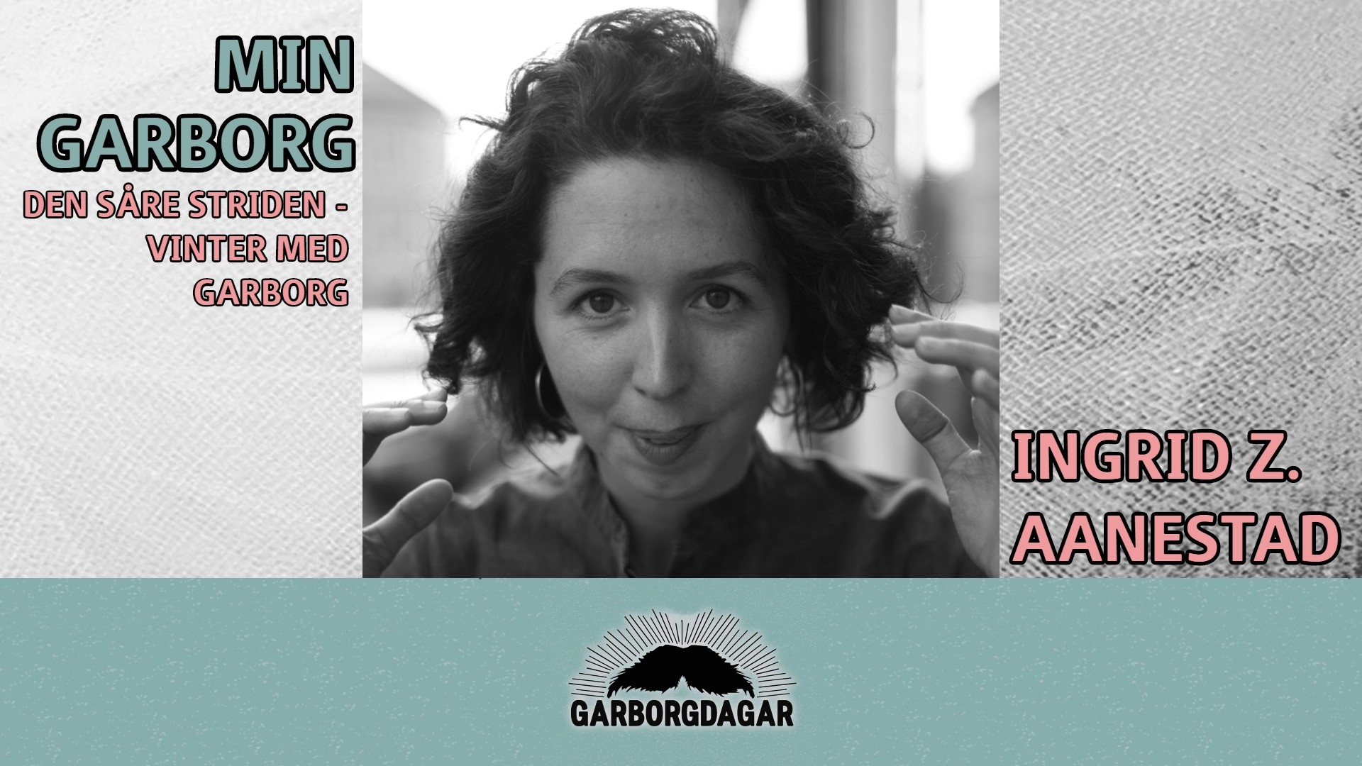 Min  Garborg.  Den  såre  striden  –  vinter  med  Garborg  |  Ingrid  Z.  Aanestad