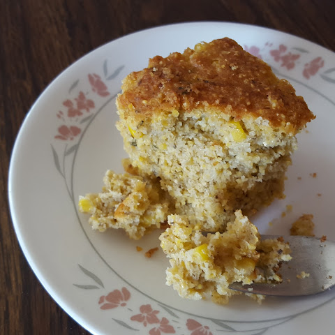 Savoury Cornbread with Thyme