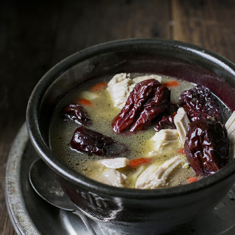 Chicken, Red Dates and Ginger Soup