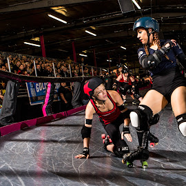 LA Derby Dolls by Mike Zampelli - Sports & Fitness Other Sports ( la derby dolls, sirens, moon bootz, skating, roller derby, women, fight crew )