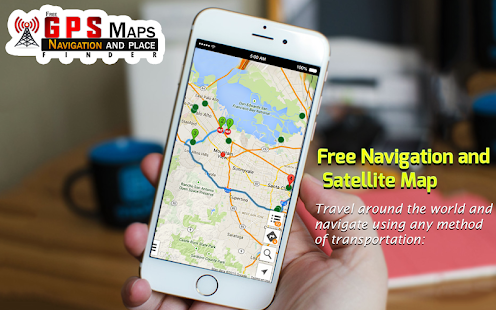 Free GPS Maps - Navigation and Place Finder for pc