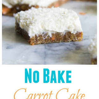 Low Fat Carrot Cake Bars Recipes